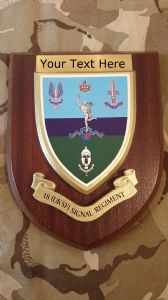 18 UK Special Forces Signal Personalised Military Wall Plaque